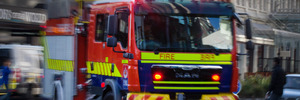 House fire near Christchurch