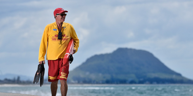 Papamoa Beach Surf Lifesaving Club captain Shaun Smith has been named Lifeguard of the Year in this year's regional awards. Photo/file