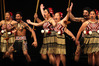 The Rotorua Boys' and Girls' High schools group (seen here in their regional kapa haka finals last year) won the national finals today at the Pettigrew-Green Arena, Taradale.