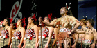 KAPA HAKA: Raukura (Rotorua Boys High and Rotorua Girls High Schools) at the National Kapa Haka Competition at the Rotorua Energy Events Centre in 2010. PHOTO/FILE