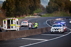 The crash occurred State Highway 29A between Baypark and Welcome Bay, Tauranga, about 4.15pm. Photo / Andrew Warner