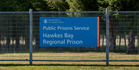 The men were found on the outer perimeters of the Hawke's Bay Regional Prison. Photo / Glenn Taylor
