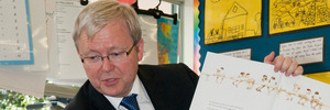 Rudd short on support for top UN job