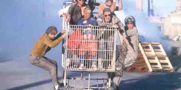 Jackass was a massive success for MTV which aired from 2000 to 2002 and will be a nostalgia favourite. Photo /  File
