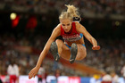 Darya Klishina of Russia competes in the Women's Long Jump final. Photo / Getty Images