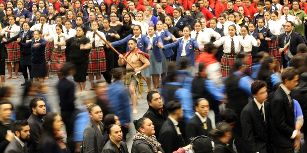 The national kapa haka festival kicked off yesterday, with 39 teams competing in three pools over three days.