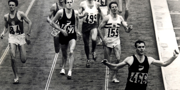 Another NFU classic, Peter Snell - Athlete tells the runner's story in his own words, retracing the steps to his triumph at the 1964 Tokyo games. Photo / Supplied