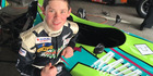 SEEMLESS: Marton teeanger Kaleb Ngatoa is making a smooth transition from karting to single seater racing and is already second in the Manfeild Formula First winter series in his loan car.