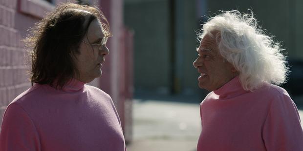 A scene from Jim Hosking's The Greasy Strangler.