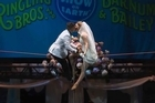 Watch: Circus acrobats get married on tightrope