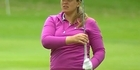 Watch: Watch: Pregnant Liz Young playing golf
