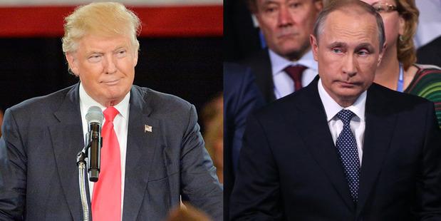 Loading Donald Trump and Vladimir Putin. Photos / Getty Images