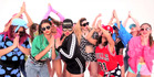 Parris Goebel and the ReQuest dance crew in Justin Bieber's Sorry music video.