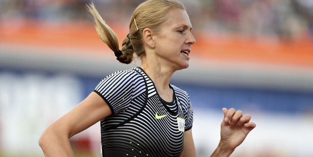 Russian doping whistleblower Yuliya Stepanova. Photo / AP