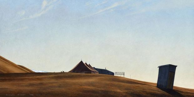 Director Simon Bowerbank said demand for Sydney's work was high and it was rare for any of his paintings to come on the market. Photo / Otago Daily Times