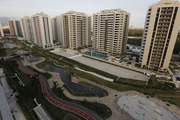 The Olympic Village stands ready in Rio de Janeiro. Photo / AP