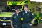 Ambos in crash, still save day