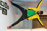 Usain Bolt posted this gravity-defying photo on Instagram. Photo / @usainbolt