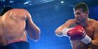 Luan Krasniqi of Germany fights Alexander Dimitrenko of Ukraine. Photo / Getty Images.