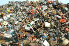 It might look like a pile of rubbish, but if you look closely you'll see a cat hidden in the image. Photo / Playbuzz