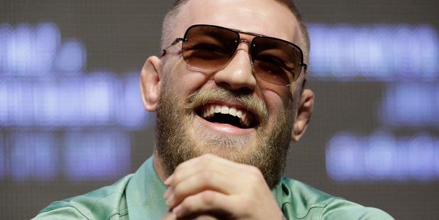 Loading Conor McGregor. Photo / AP