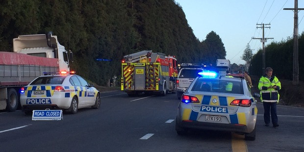 Emergency services were called to a crash on SH36 by Keenan Rd. Photo/George Novak