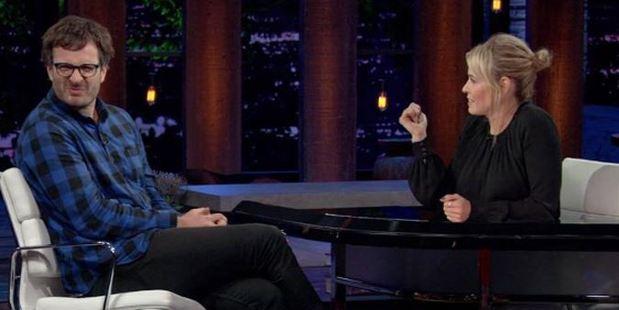 David Farrier recently appeared on Chelsea Handler's Netflix talk show.