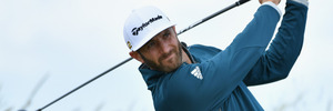 Dustin Johnson during the 145th Open Championship at Royal Troon. Photo / Getty Images