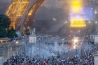 Football violence during the UEFA Cup created ugly scenes across France and sorely tested the tournament's theme of