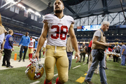 Jarryd Hayne had mixed experiences with the San Francisco 49ers. Photo / Getty