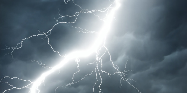 School principal Donna Donnelley said students were inside when two forks of lightning hit the school. Photo / iStock