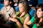 So many people use their phones in cinemas these days that ushers have often given up trying to stop them. Photo / iStock