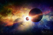"""Science has shown the """"building blocks"""" for life - water, organic chemicals - are widespread in the universe. Photo: iStock"""