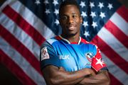 USA Rugby speedster Carlin Isles. Photo / Getty Images