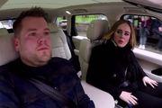 James Corden does Carpool Karaoke with Adele.