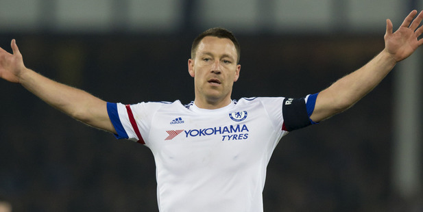 John Terry, captain of Chelsea Football Club, recently named the most hated club in the Premier League. Photo / AP