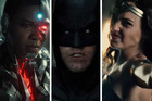 Snyder and the cast flew in from London to tease Justice League at Comic-Con, which is currently in production and not set to hit theaters until November 2017.