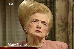 Is Trump's mum to blame for his hair?