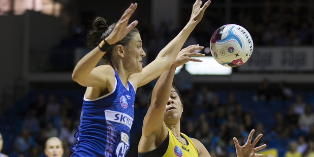Netball NZ's new elite domestic league has landed a three-year naming rights deal with ANZ. Photo / Brett Phibbs