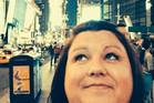 Sharin Mooney used stolen money to fund her luxury trip to New York. Photo / Facebook