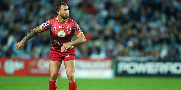 Quade Cooper has signed a heads of agreement with the Australian Rugby Union but is yet to commit to a Super Rugby franchise. Photo / Getty Images