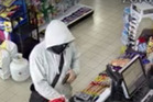 Police wan to hear from anyone who can help identify the man who stole cash and petrol from Beach Road Mobil Station in Torbay.