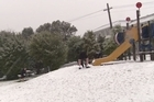 Watch: Dunedin hill suburbs blanketed with snow