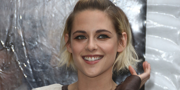 Kristen Stewart says she's 'really in love' and 'much happier' with her new girlfriend. Photo / SplashNews