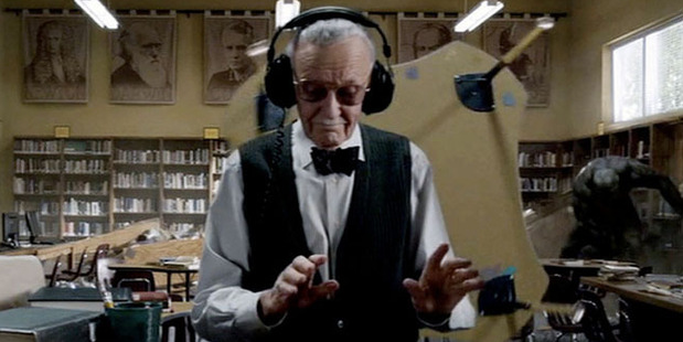 Stan Lee is known for appearing somewhere within Marvel's hero movies.