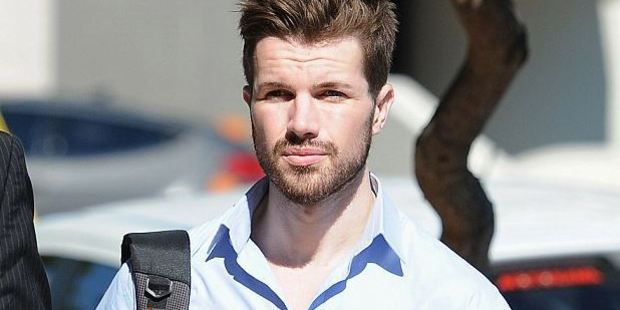 Accused balcony killer Gable Tostee (pictured) has tried to shame a TV reporter online. Photo / AAP
