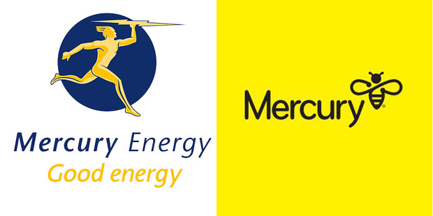 Market research with customers showed very strong engagement with Mercury's new direction and the 'bee' logo.