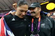 Valerie Adams' coach Jean-Pierre Egger won't make the trip to the Rio Olympics. Photo / Brett Phibbs
