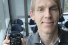 Dr Gerald Weber has no plans to upgrade his old Samsung Galaxy S II.