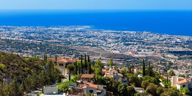 The view from a mountain near Limassol, Cyprus. Photo / 123RF